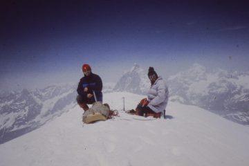 breithorn occidentale con Luciano e Domenico