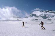 sul ghiacciaio des Sources de l'Arc