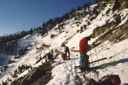 il tratto che richiede neve sicura