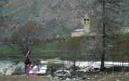 sullo sfondo l'Eglise Marin