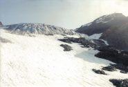 Il ghiacciaio della Ciamarella