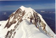 Cresta ed Aig. de Bionassay in discesa verso il Piton des Italiens