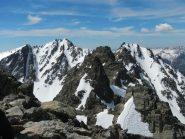 Il Monte Tenibres visto dalla Testa dell'Ubac