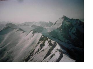 La Tsantelrina dalla cresta est della Gran Sassiere...