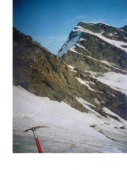 La Gran Sassiere dal ghiacciaio di Glairettaz...