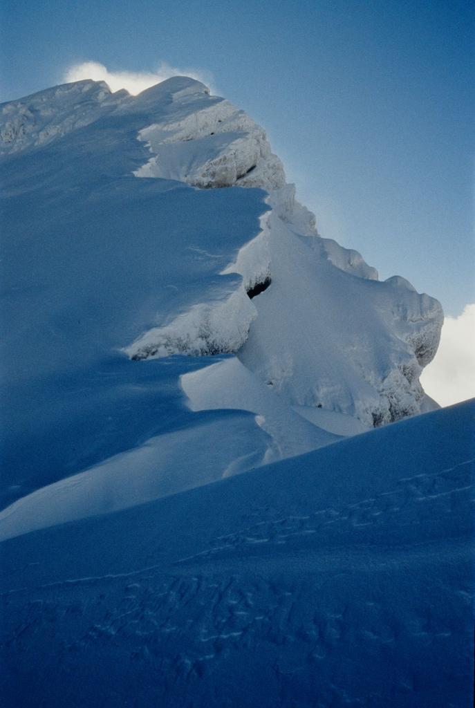 la bella cresta Nord del Pizzo Cefalone (3-1-1996)