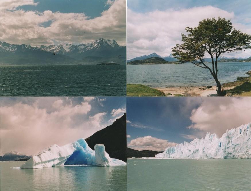 Fagnano (Lago) giro da Ushuaia 1996-01-03