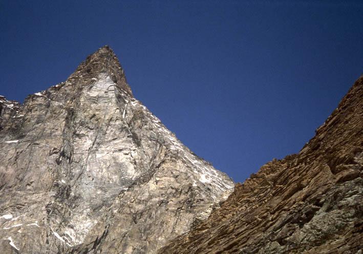 Furggen (Cima di) o Tete de la Forclaz da Cervinia, Cresta di Furggen 1995-08-12