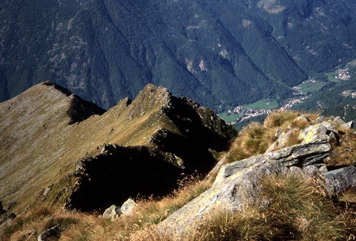 La Val Grande vista dalla Bellavarda