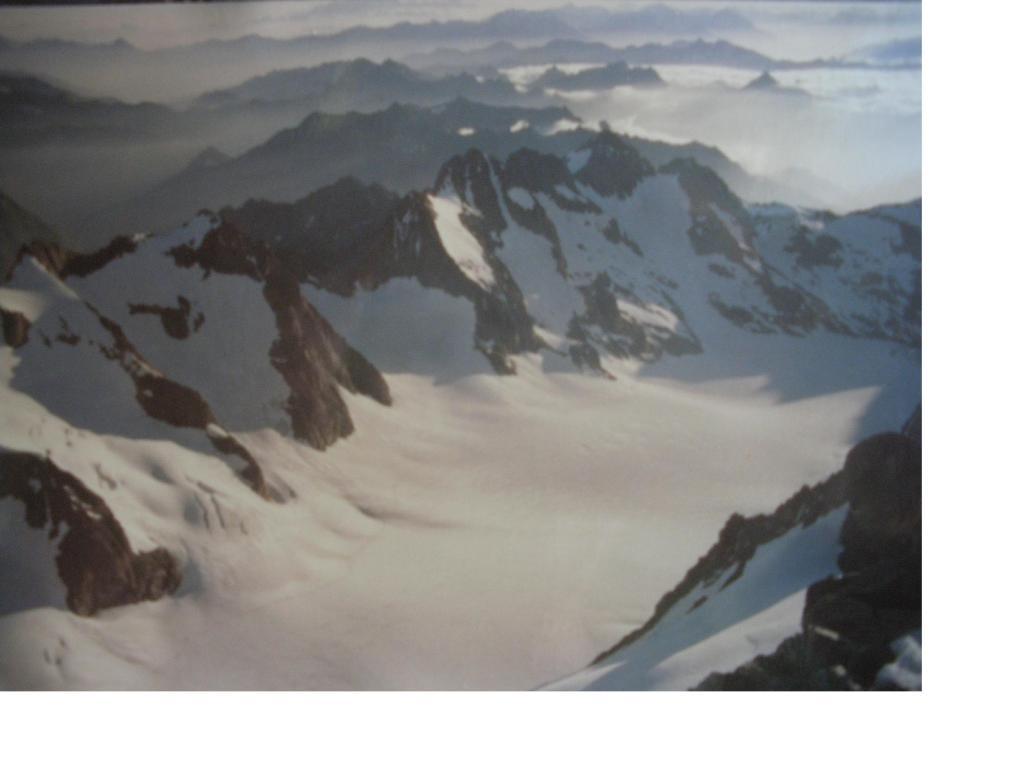 Il Glacier blanc..visto dalla vetta..