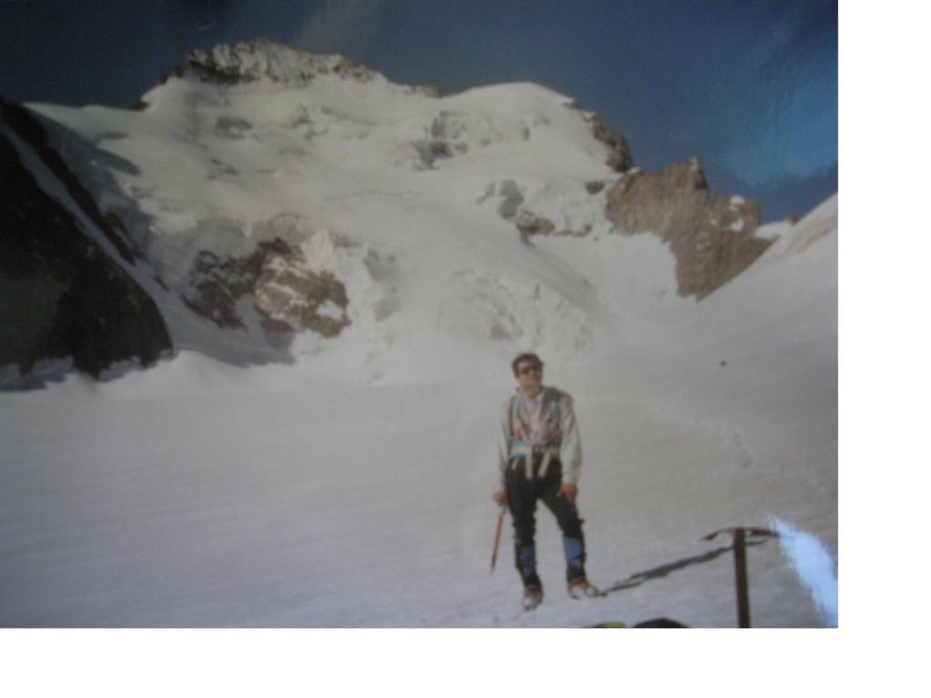 Sul Glacier Blanc..con dietro la Barre