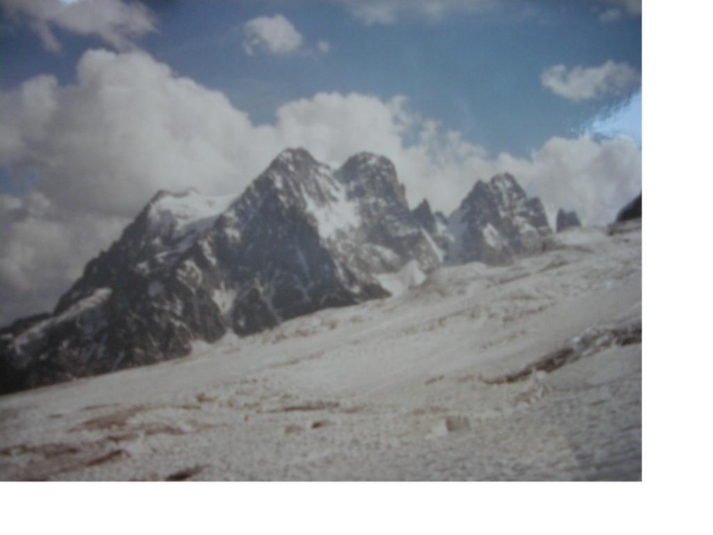 Il Pelvoux dal Glacier Blanc