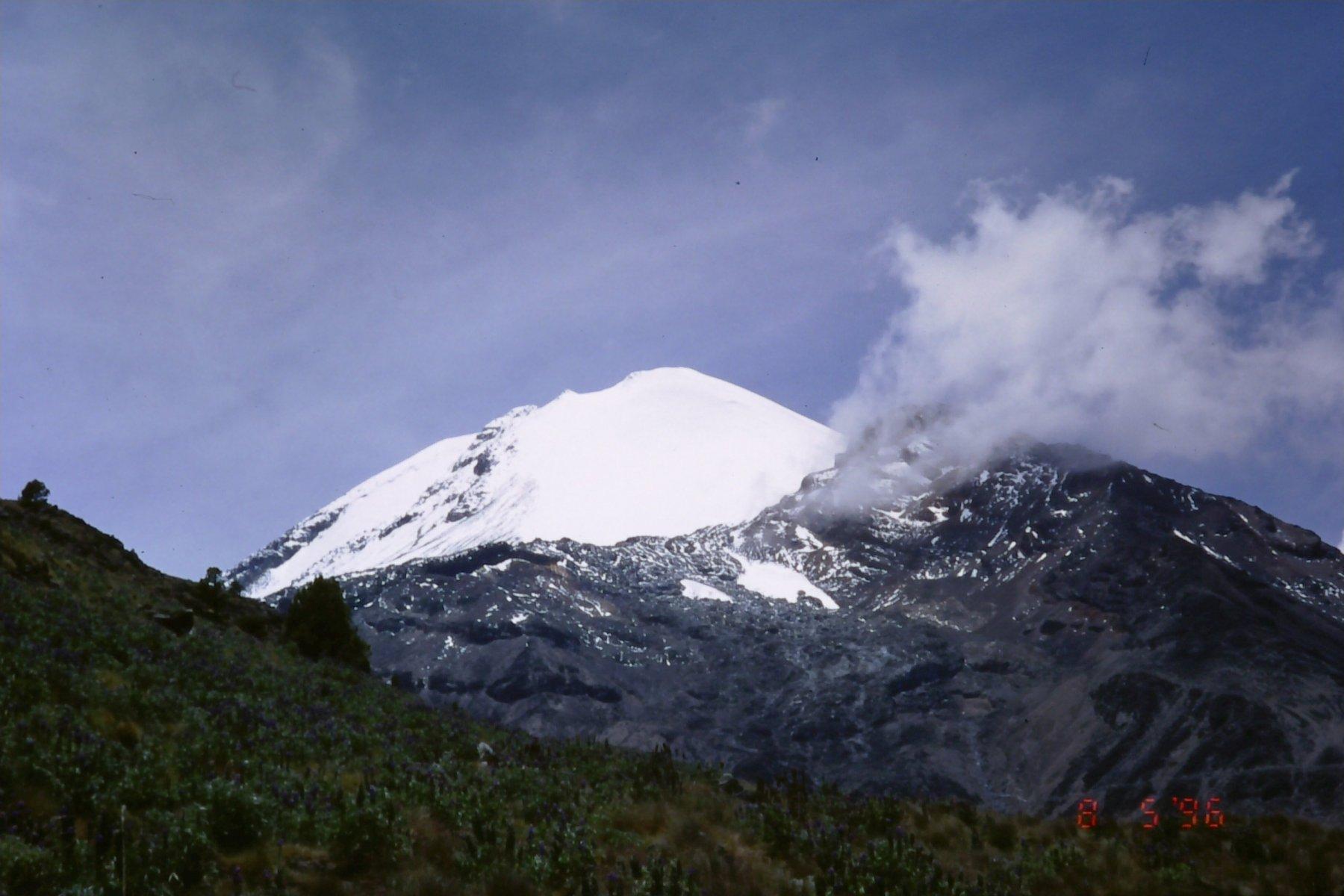 Orizaba (Pico de) Versante Nord 1996-08-05