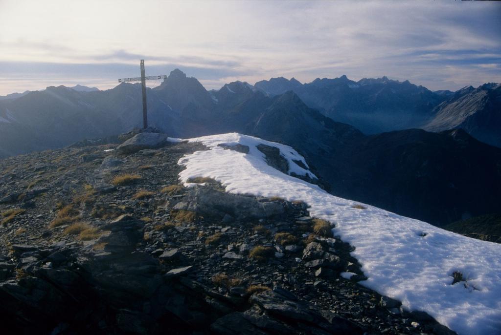 la vetta del Monte Cassorso (28-9-1996)
