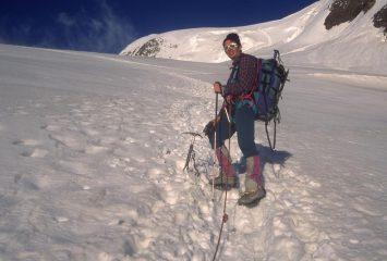 io sul Feegletscher a quota 3250 m. (3-8-1997)