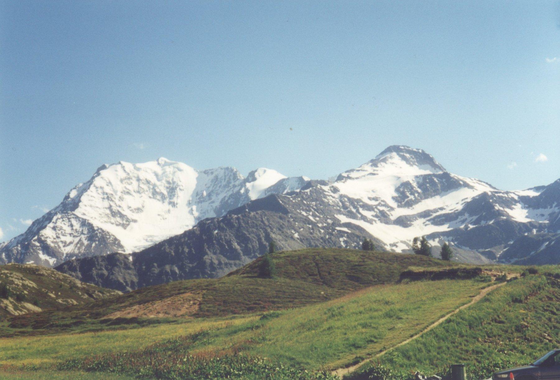a sinistra parete nord Fletschhorn