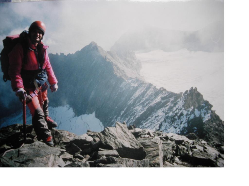 La cresta delle Clochettes e la Grivoletta viste dalla Grivola