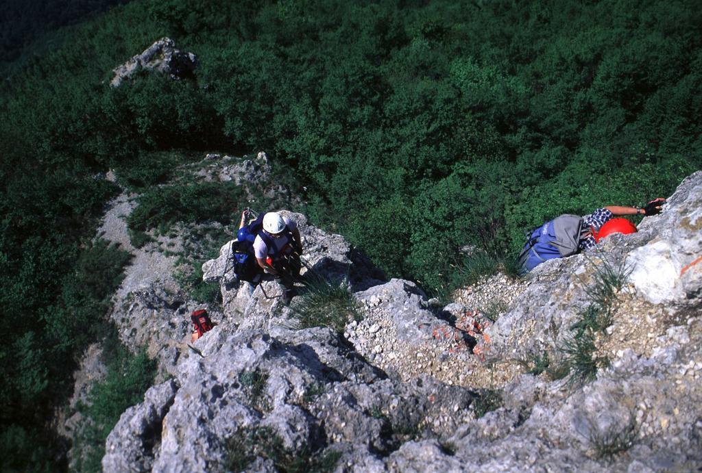 Luciano e Guido sulla via ferrata (15-5-2000)