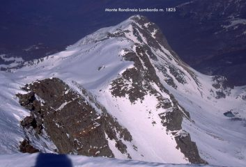 panorami osservati dalla cima : Rondinaio Lombardo (18-2-2001)