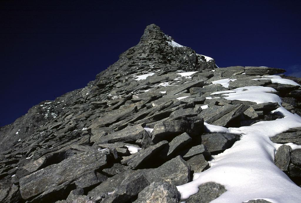 la cresta Sud del Monte Leone
