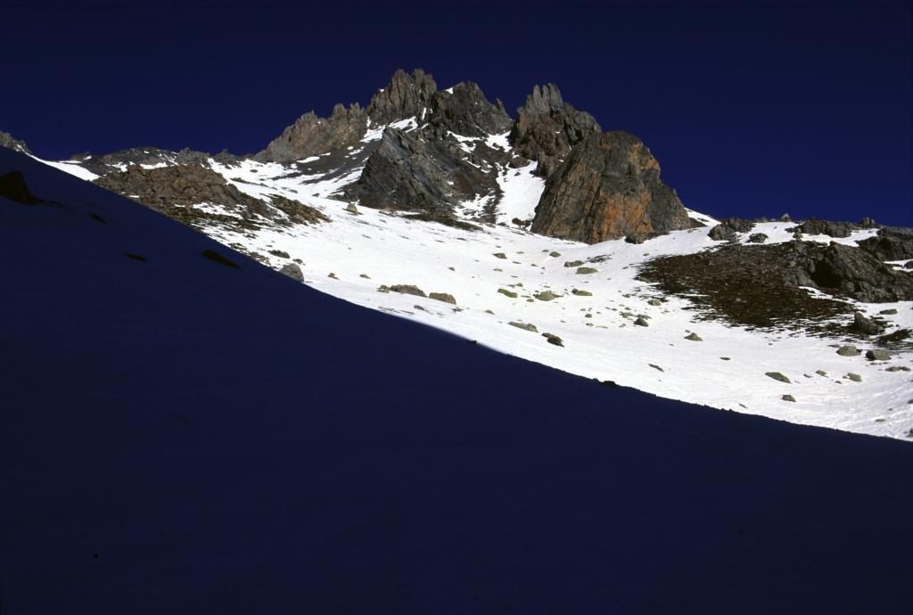 prime luci del sole sul Monte della Signora (24-3-2002)