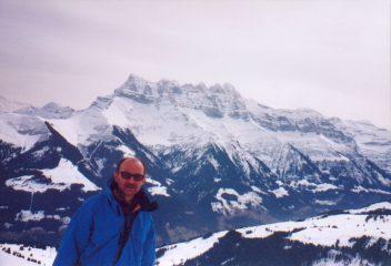 Panorama sui Dents du Midi