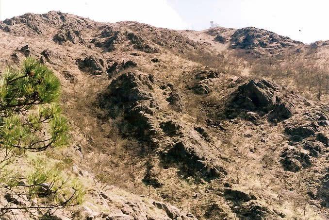 Scendendo dal monte tobbio
