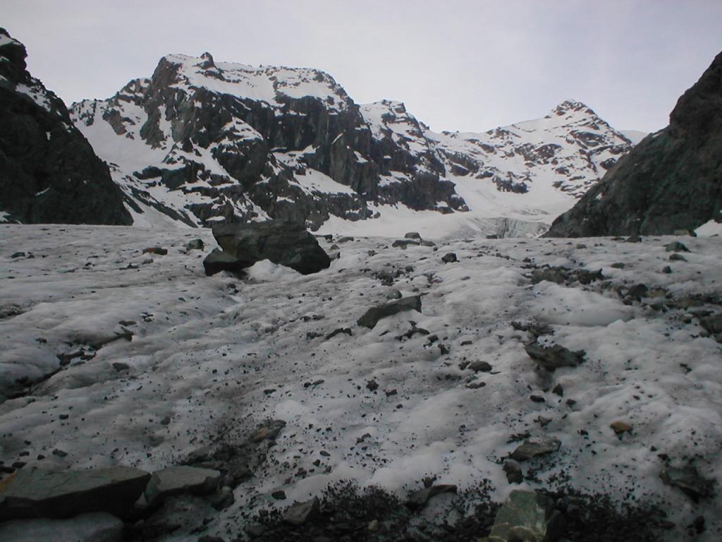il ritiro dei ghiacciai e'inesorabile