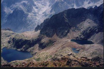 I bei laghi di Valscura dalla cima