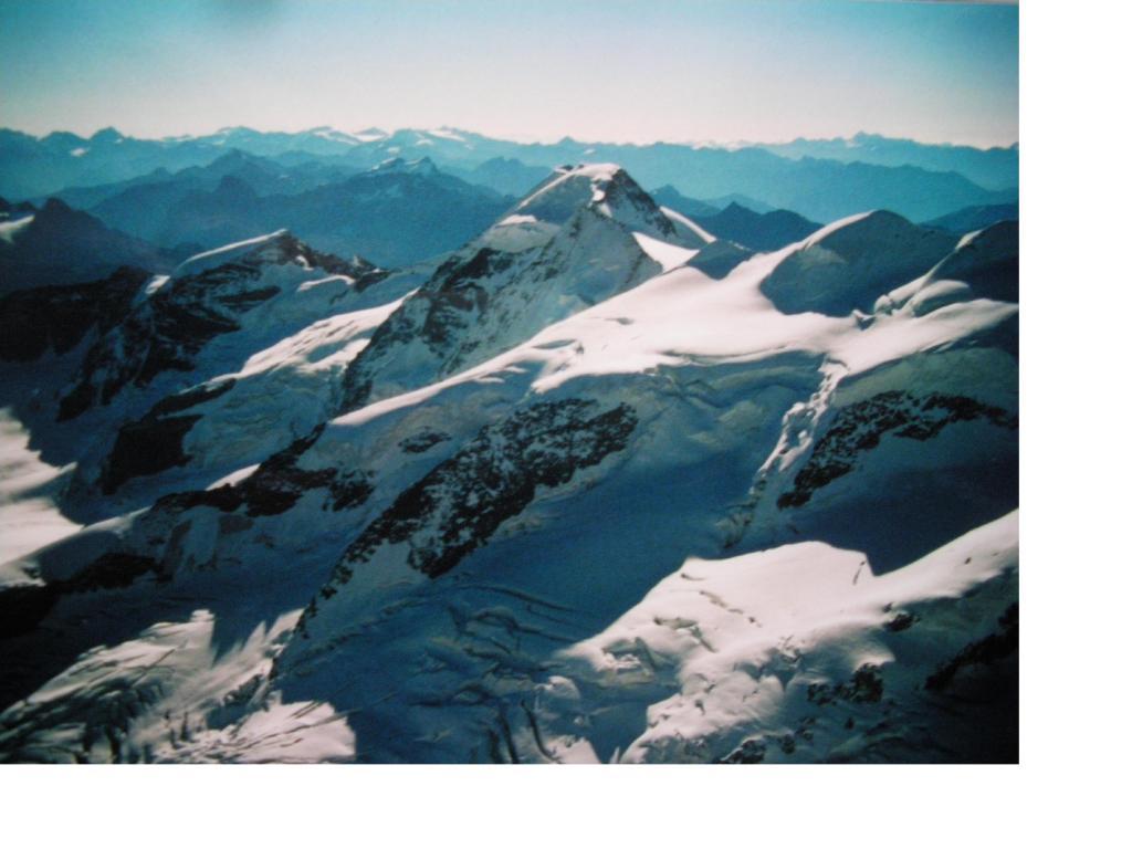 Il Pizzo Palu' dal Bernina