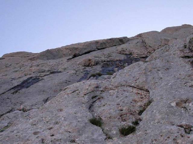 Corno Piccolo - 2° Spalla Vecchiaccio 2002-08-20