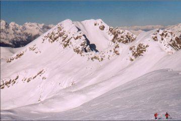 il Montaccio di Pennes dalla vetta della C. di sulz
