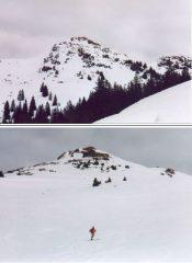 Discesa dalla vetta del SonnSpitze,versante Sud-Ovest