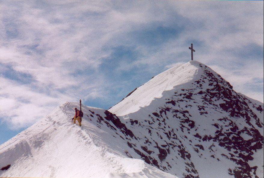 La cresta Est del LempersBerg in prossimità della vetta.