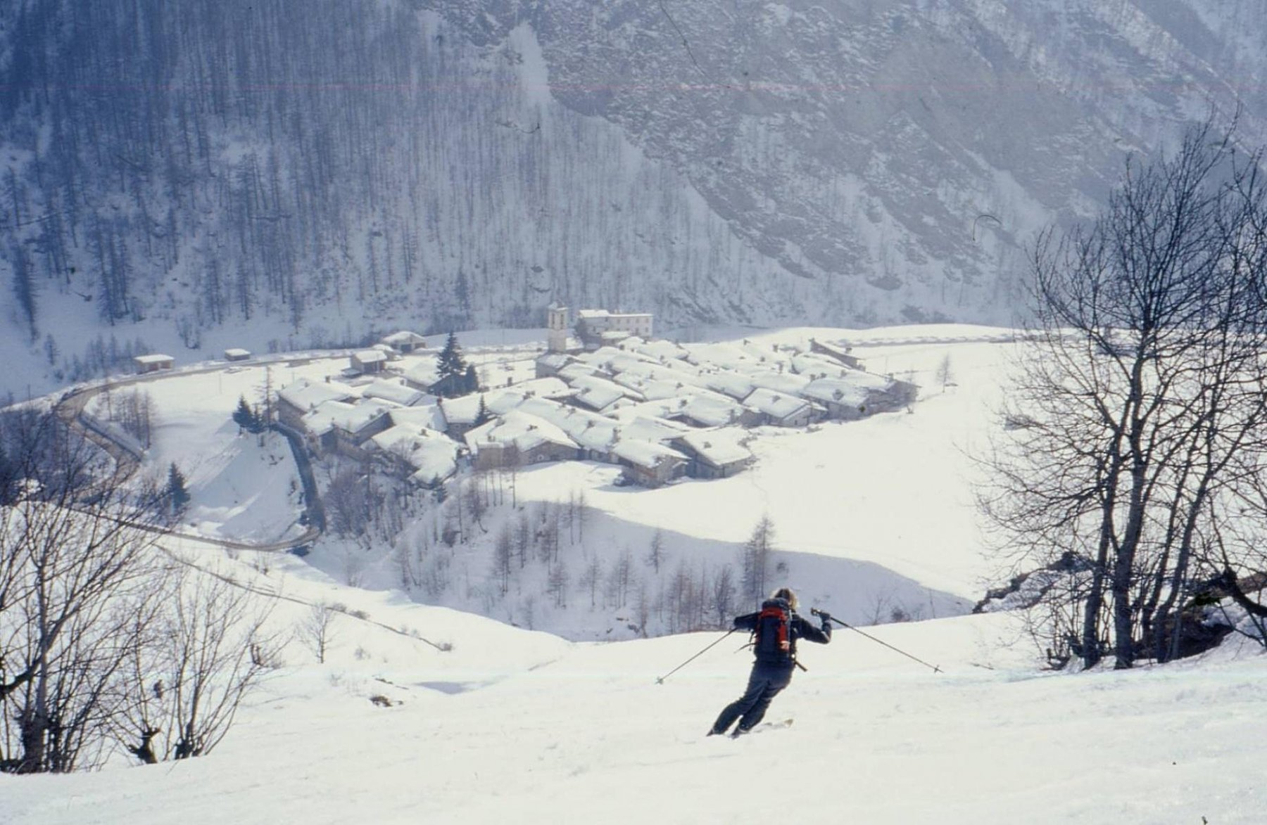 Bondormir (Cima del) da Prafauchier 2003-02-22