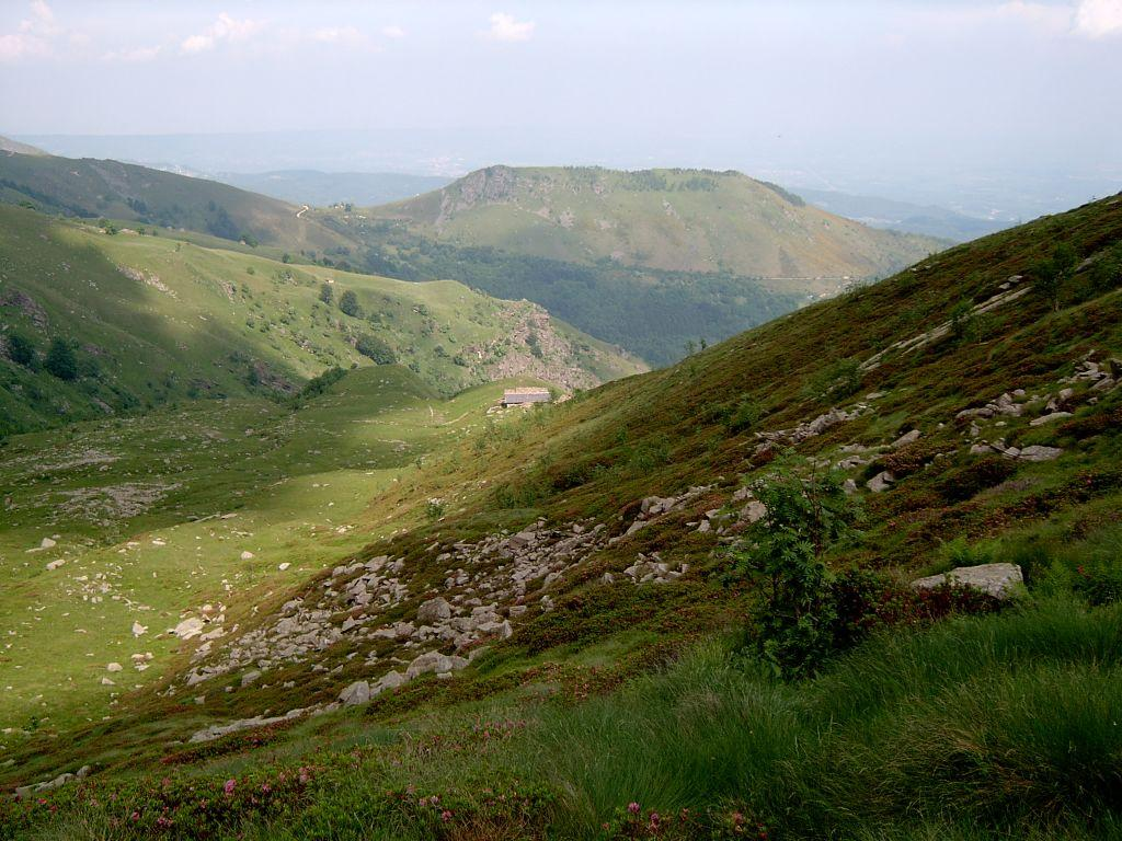 Panorama sul Monte Calvo