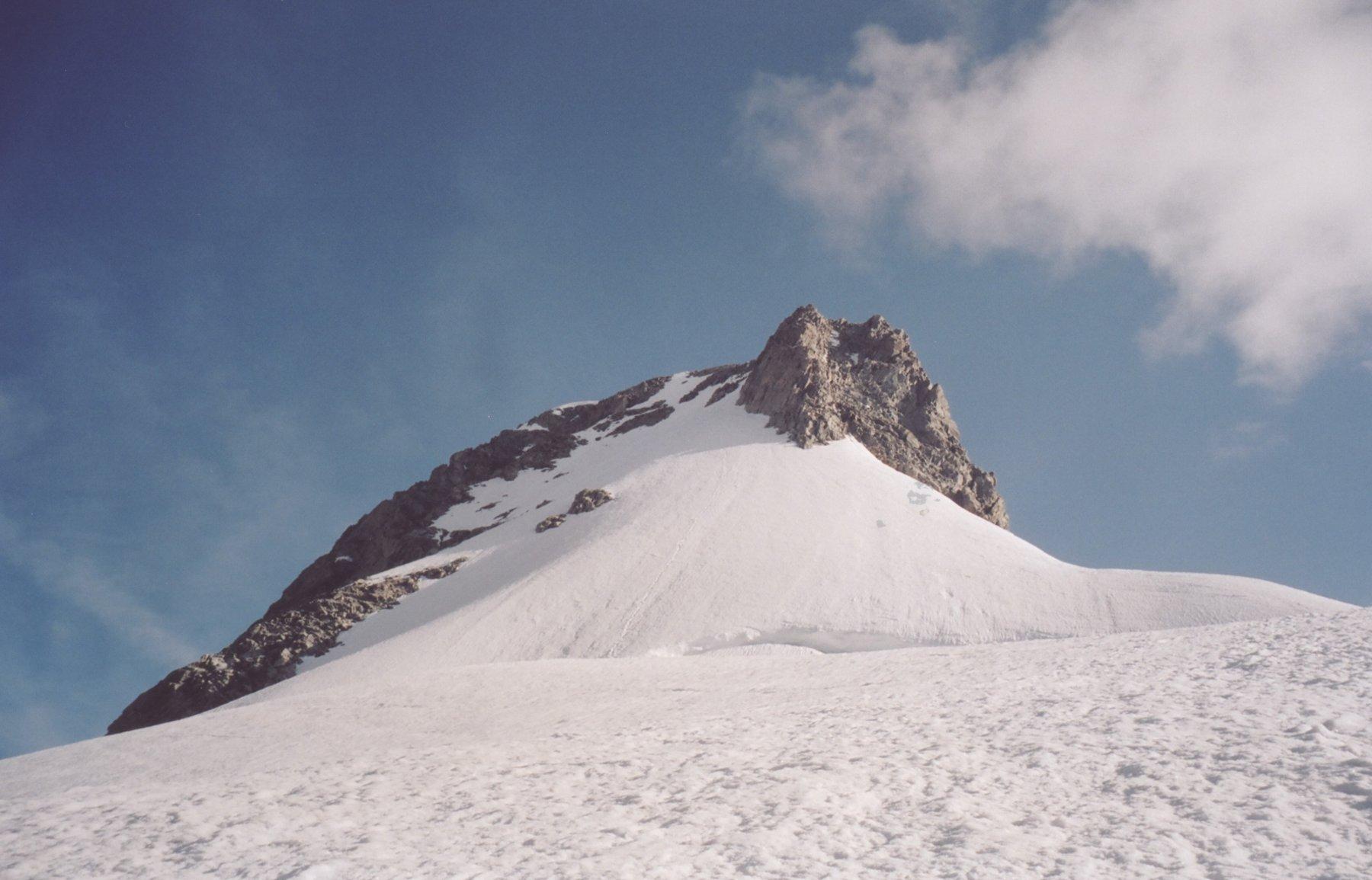 scivolo finale mont Dolent