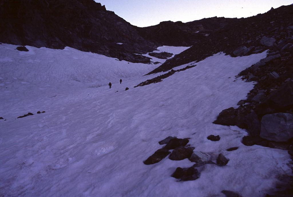 salendo verso il Col de la Division (6-7-2003)