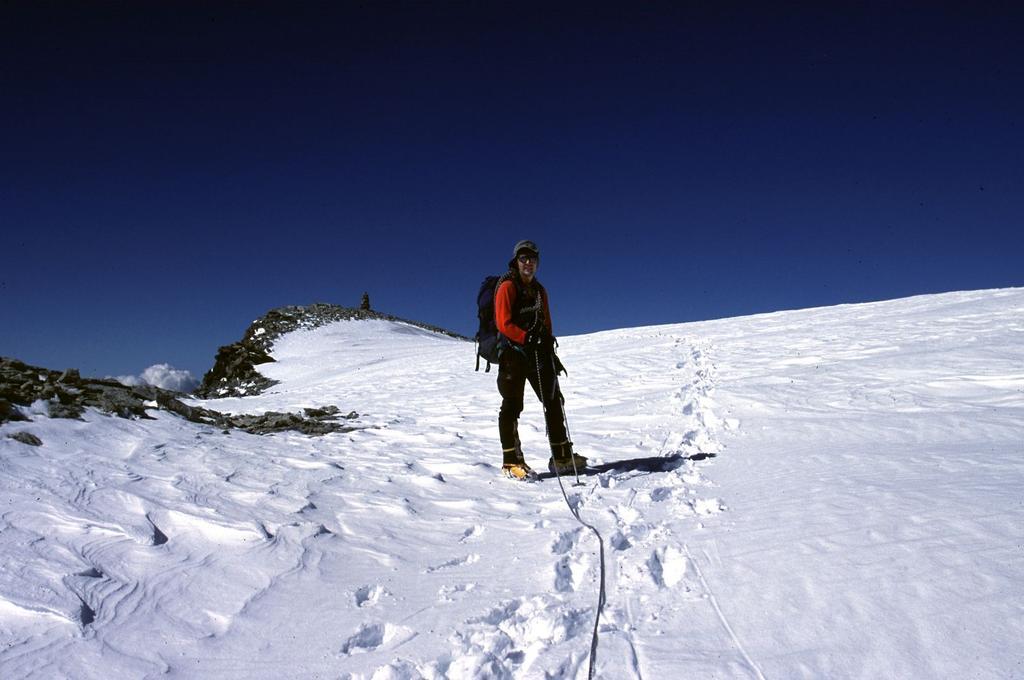 Stelvio a pochi metri dalla vetta della Tete Blanche (6-7-2003)