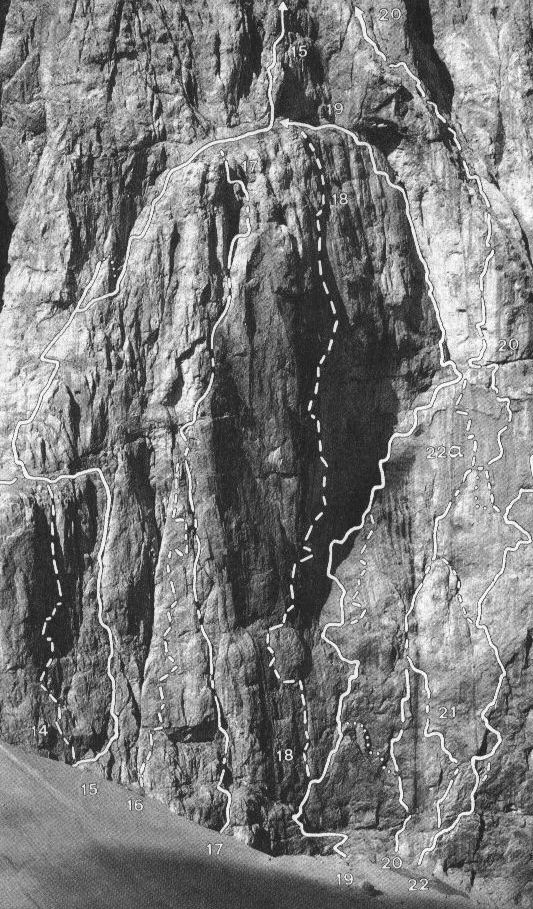 Marmolada, Punta Penia Via dei Sudtirolesi + Diretta Messner 2003-08-10