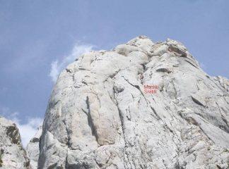 la successione di diedri e camini della Marsilii-Sivitilli