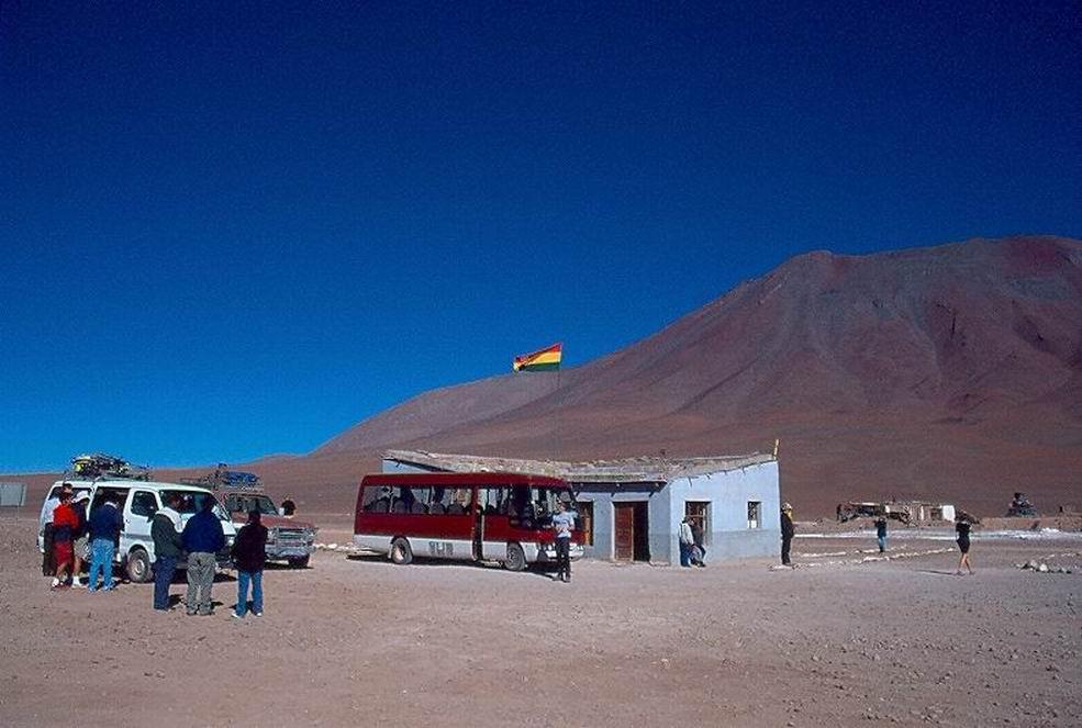 Ingresso in Bolivia