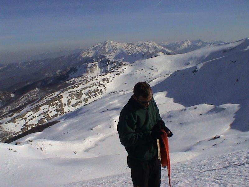 Sillara (Monte) per il versante NE 2004-02-10