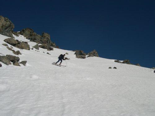 Meabè (Monte) anticima Sud 2556 m da Septumian 2004-02-12