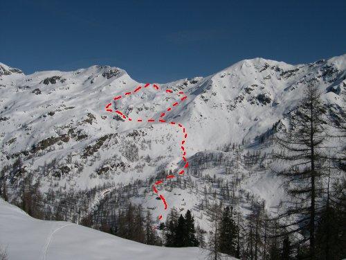 tracciati di salita