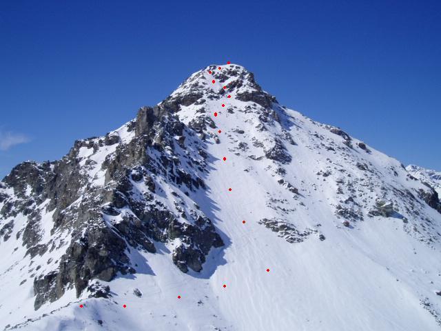 Palavas (Monte) o Tete du Pelvas Parete Est 2004-03-28