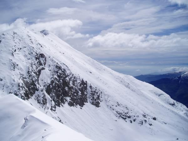 Peigrò (Monte) da Giordano, giro Versante SO -colle Giulian 2004-05-09
