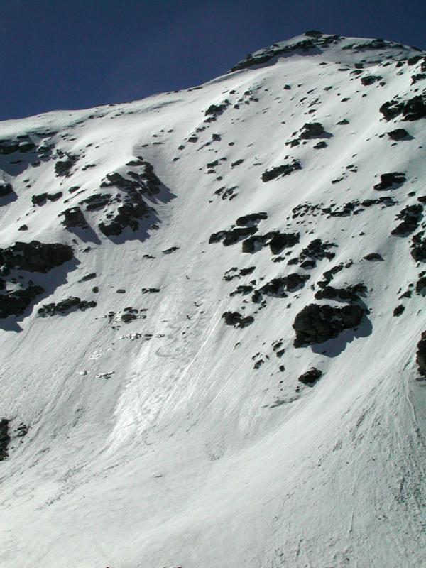 Ambin (Rocca d') versante nord, via diretta 2004-05-30