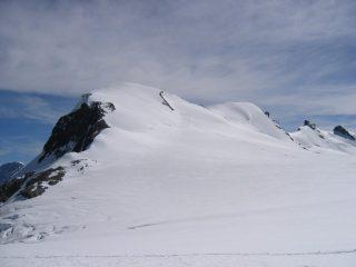 I pendii finali del Breithorn occidentale
