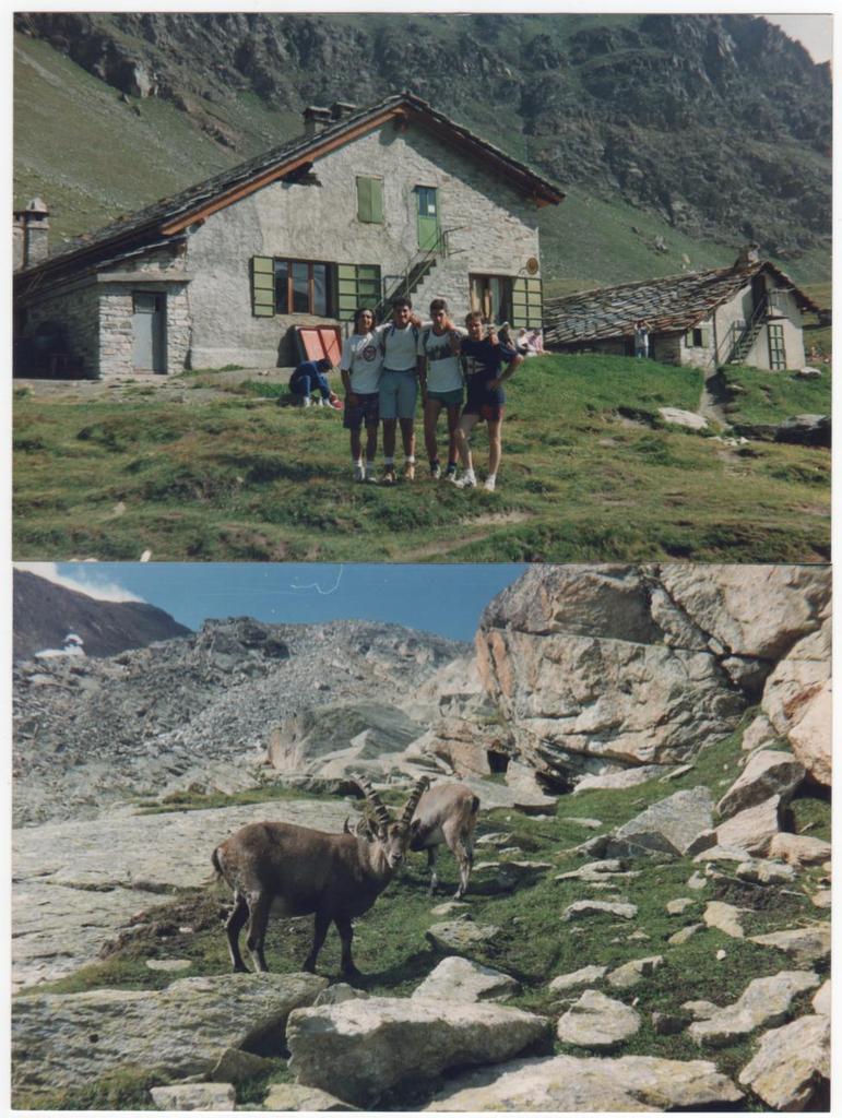 il rifugio Vittorio Sella
